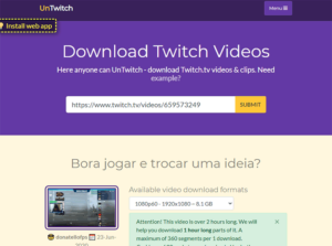 download twitch streams
